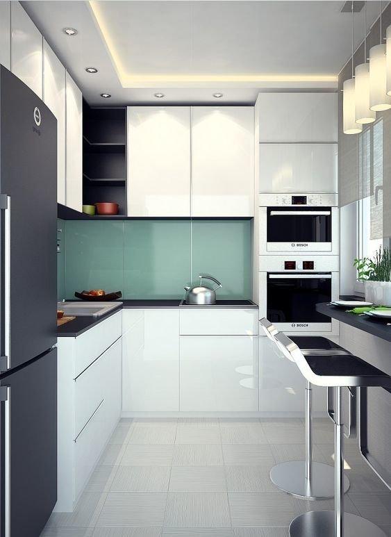 6. дизайн, идеи дизайна, интерьер, кухня, маленькая кухня