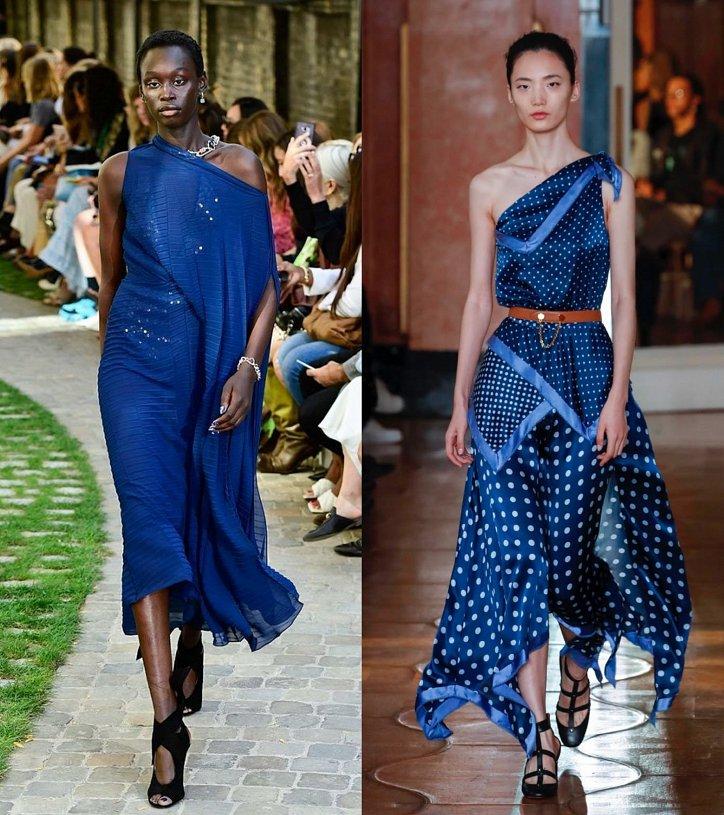 Как носить синий - самый модный цвет 2020 года фото №2