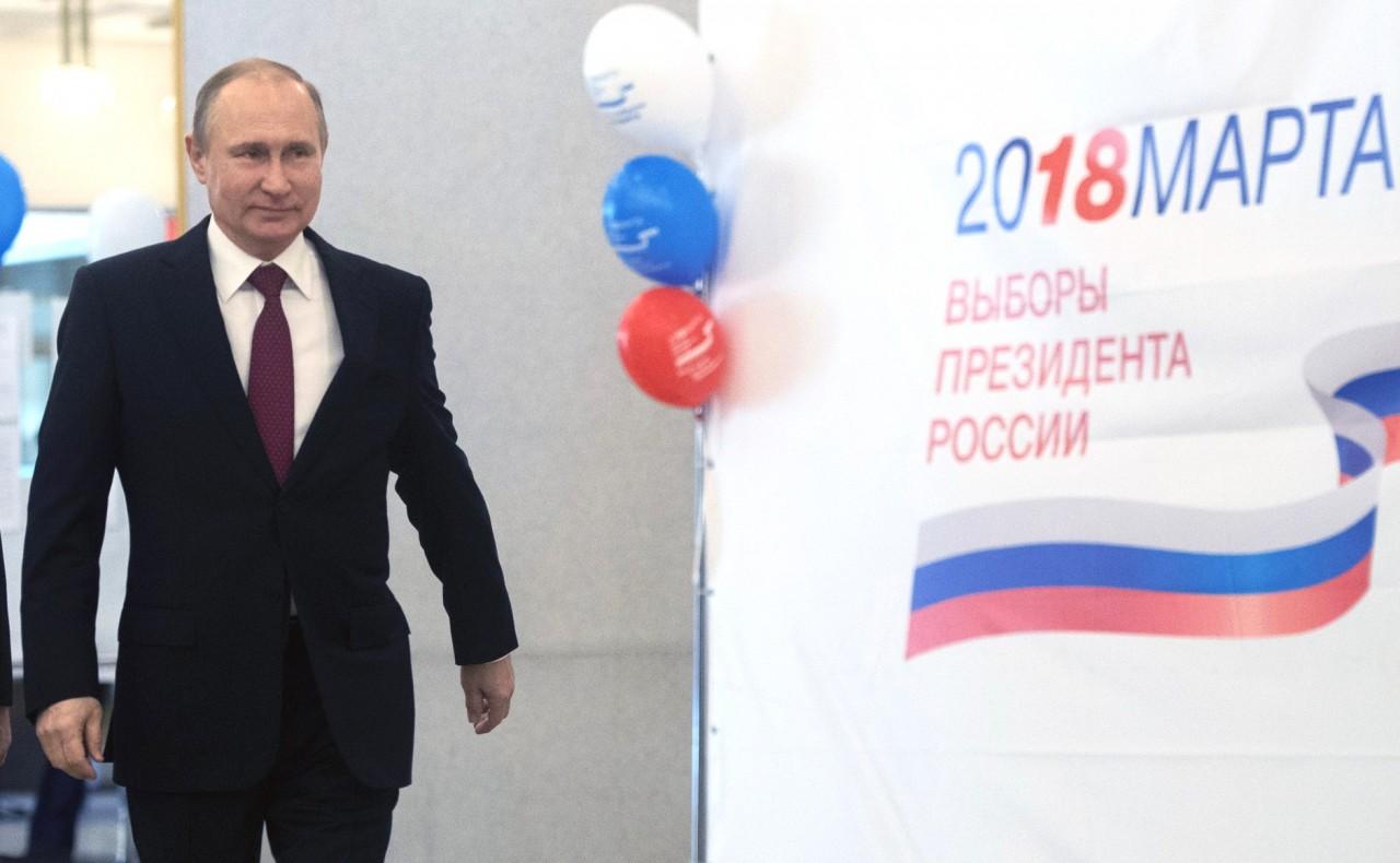 Владимир Путин проголосовал на выборах Президента России