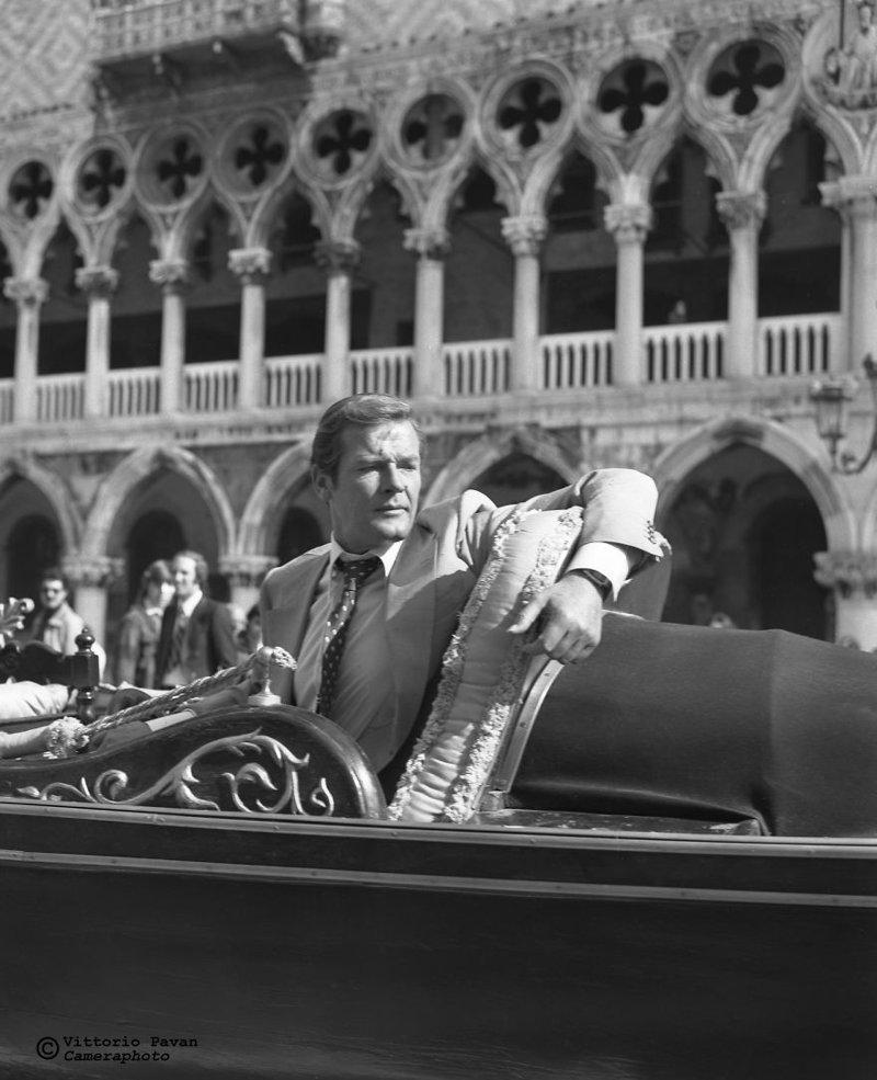 Роджер Мур архив, венеция, негативы, фотографии
