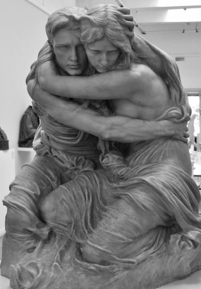 На эти скульптуры неловко смотреть, но невозможно отвести взгляд! скульптура