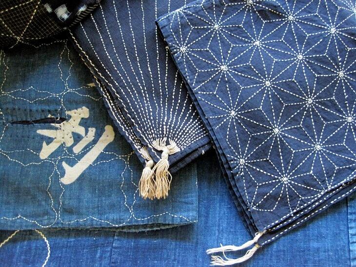 Мастер-класс — как  создать вещь с узором в стиле «сашико»