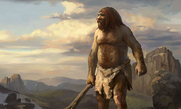 «Месть» неандертальцев – гены тяжёлого COVID-19 гены,история,коронавирус,наука,неандартальцы