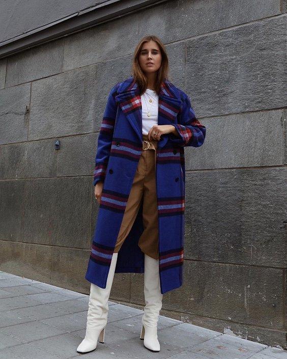 Как носить синий - самый модный цвет 2020 года фото №14