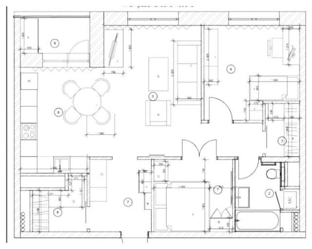 Перепланировка двушки в трешку за 2 недели идеи для дома,интерьер и дизайн,перепланировка
