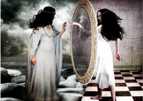 Гадания с помощью зеркал