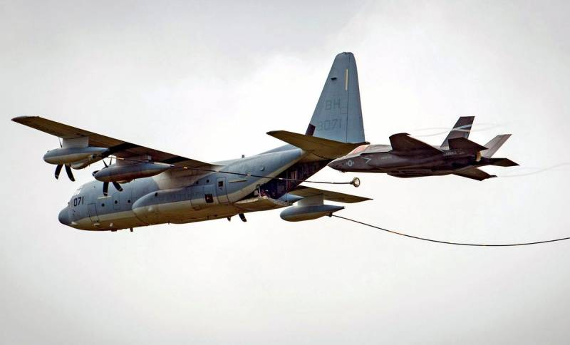 Столкновение в воздухе: американцы отчитались об очередной потере F-35 Новости