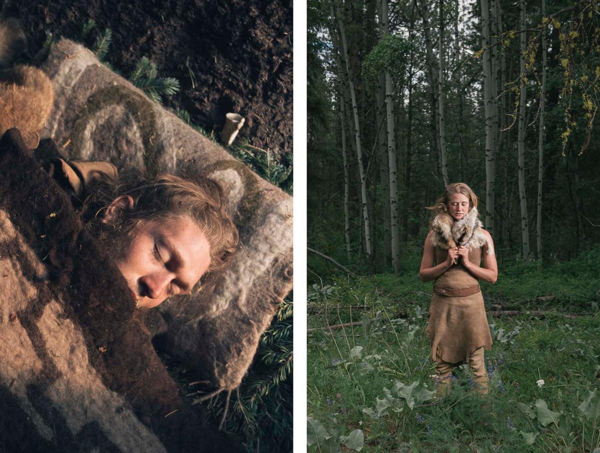 Назад в палеолит: охотники-собиратели 21-го века в фотопроекте «Живущие дикими» 15