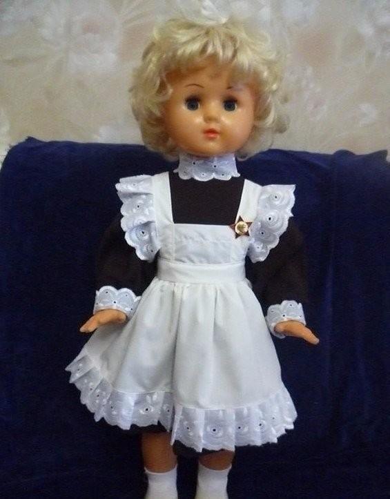 Какие раньше красивые куколки были)))