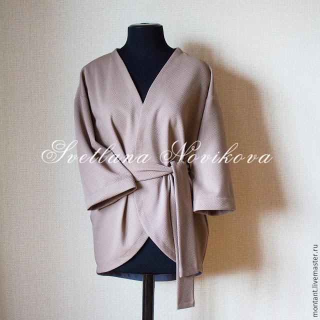 Мастер-класс для вдохновения: шьем жакет-кимоно