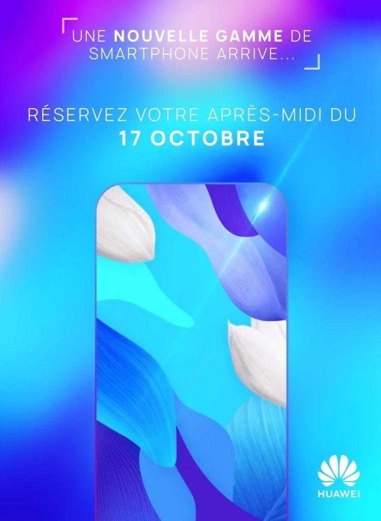 Huawei представит новый смартфон 17 октября во Франции новости,смартфон,статья
