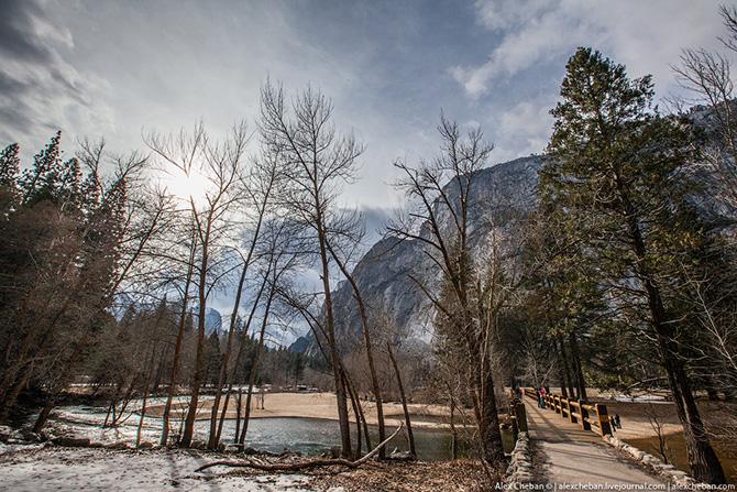 Идеальный парк, идеальная природа