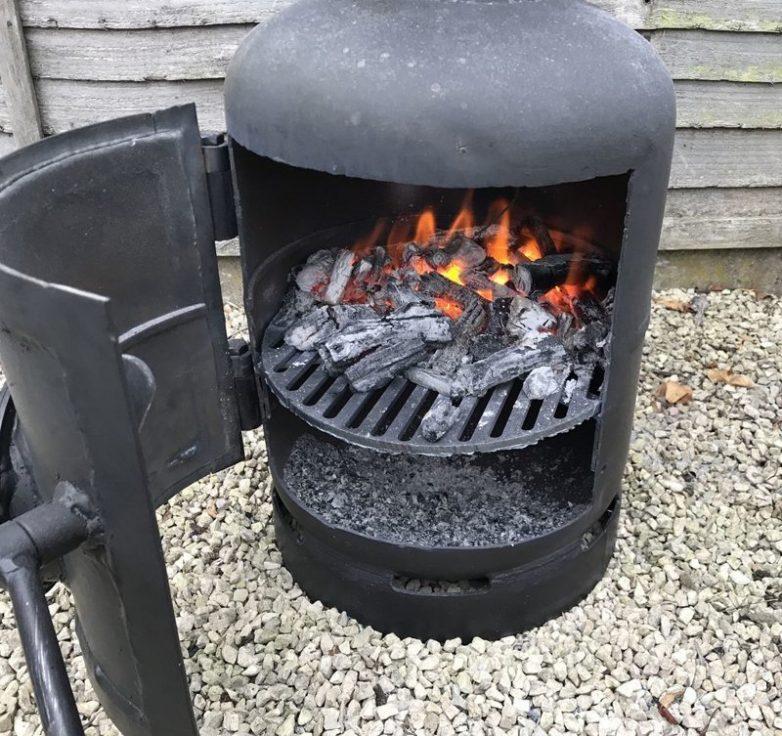 Коптильня горячего копчения своими руками для дома и дачи,мастер-класс