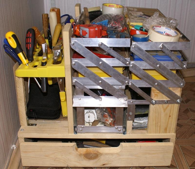 Ящик для хранения инструмента своими руками