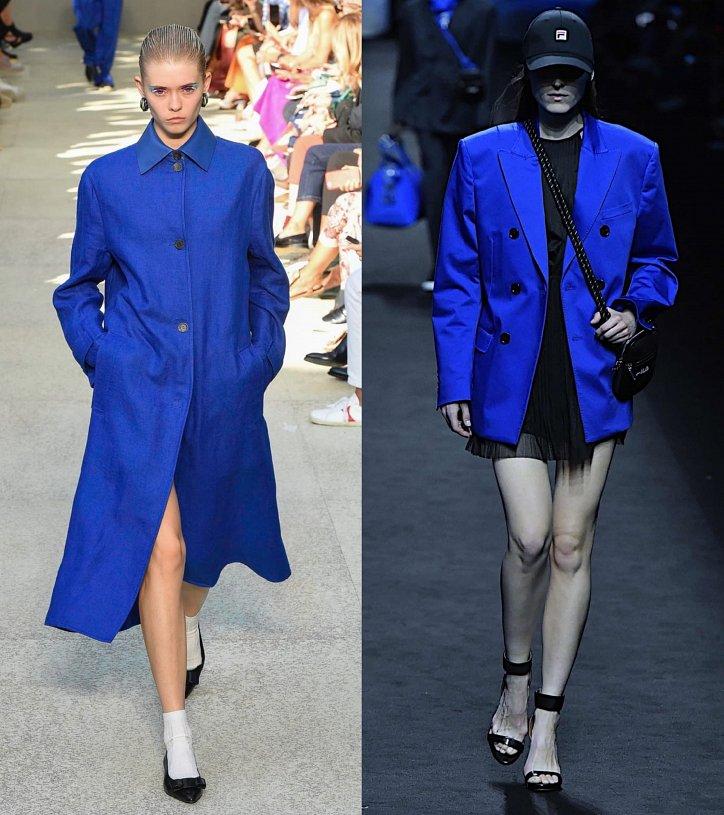 Как носить синий - самый модный цвет 2020 года фото №5