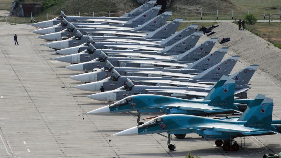 В России реконструируют более 100 военных аэродромов
