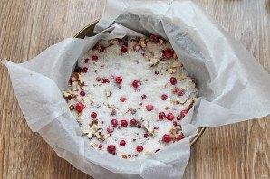 Бостонский клюквенный пирог кухни мира,сладкая выпечка
