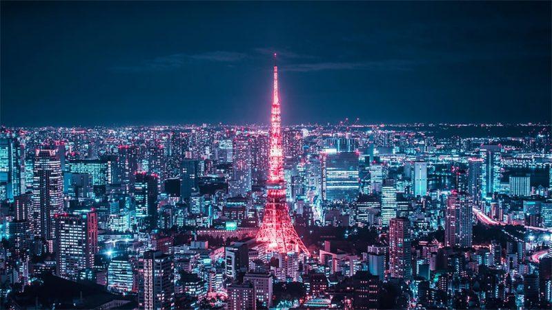 Город огней: потрясающие снимки ночного Токио свысоты небоскребов