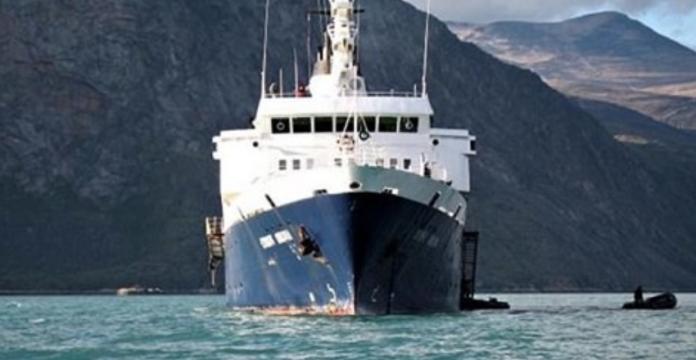К калифорнийским берегам прибило корабль-призрак Lyubov Orlova