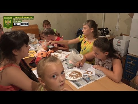 Война на Донбассе: Гуманитарная обстановка в посёлке Калиново
