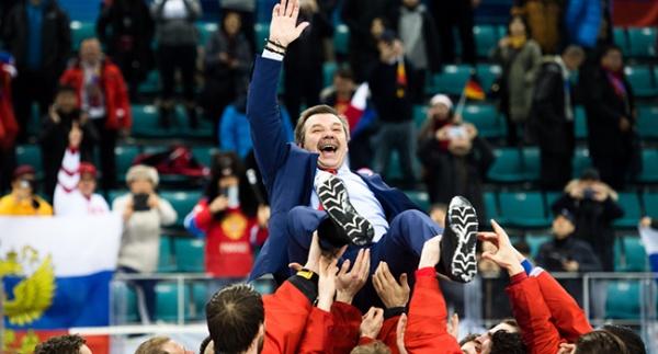 Олег Знарок: Президент России поздравил хоккеистов