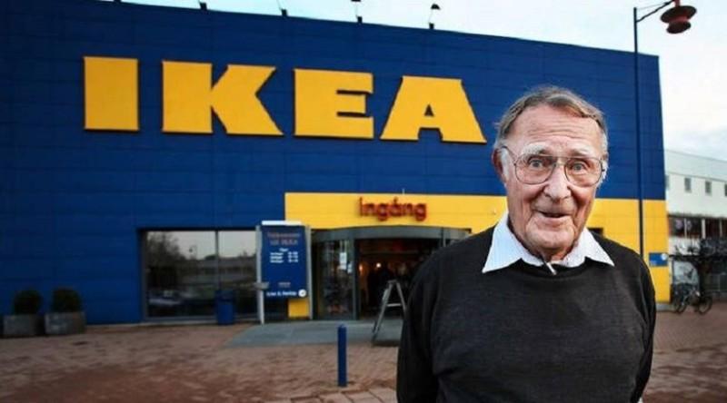 Скончался основатель IKEA Ингвар Кампрад