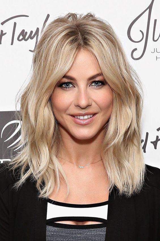 Колорирование волос для блондинок