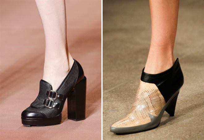 модные туфли весна 2018