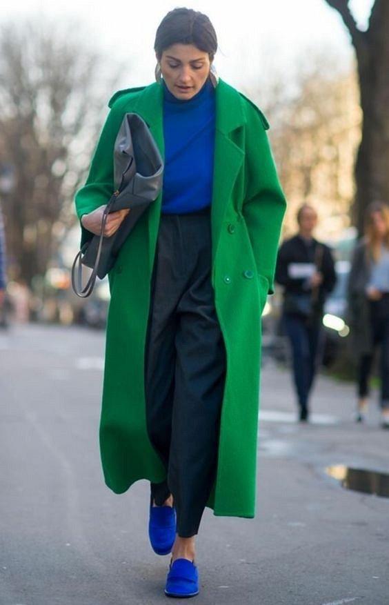 Как носить синий - самый модный цвет 2020 года фото №20