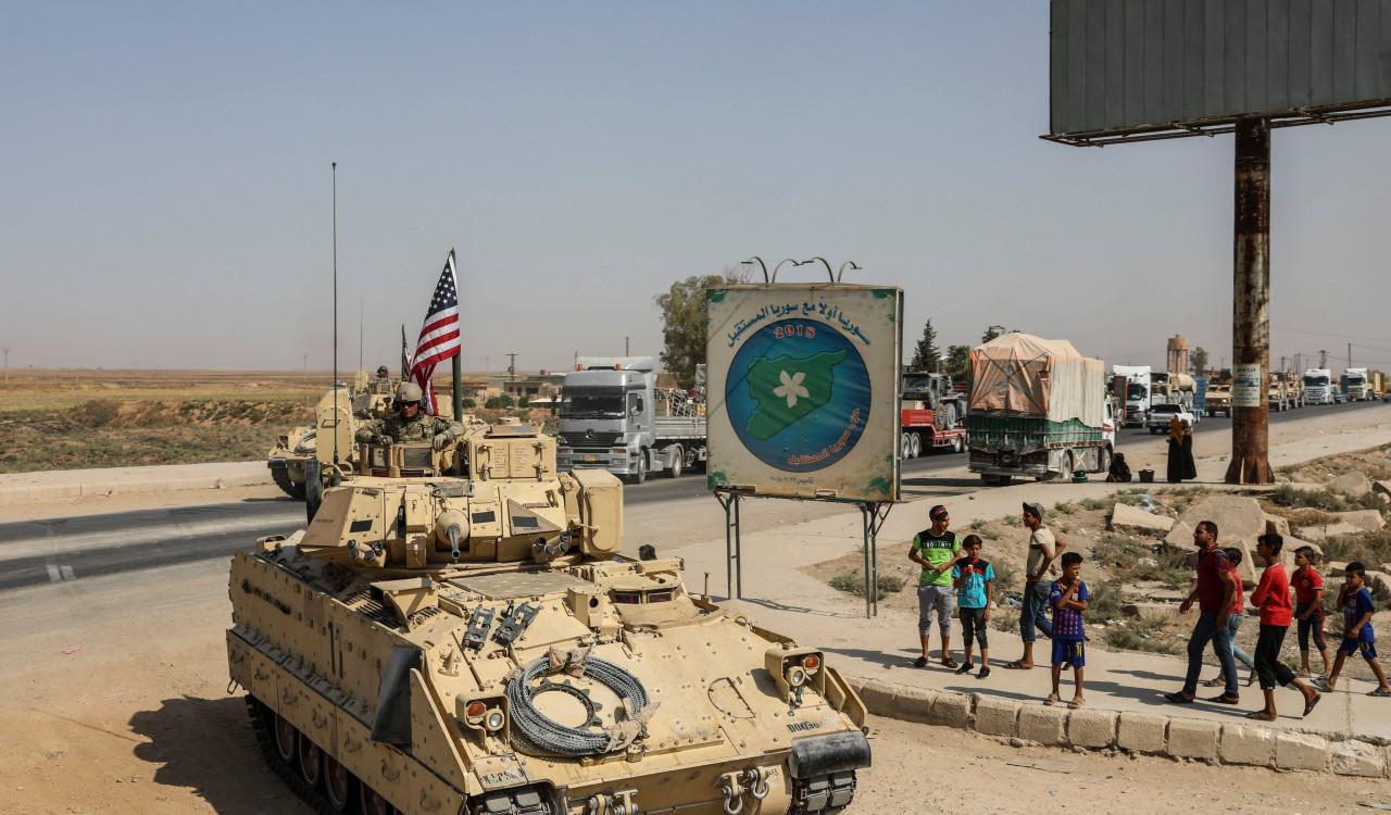 Российские военные остановили в Сирии американскую колонну