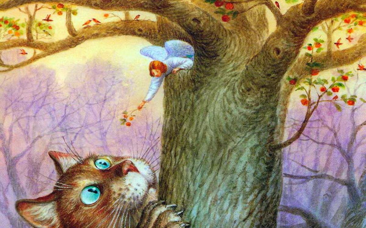 Кот и Ангел. Сказка для взро…