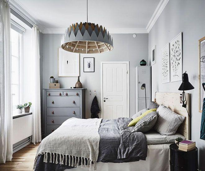 дизайн маленькой спальни стены