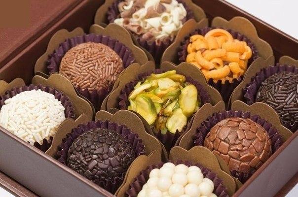 Вкуснейшие конфеты «Brigadei…