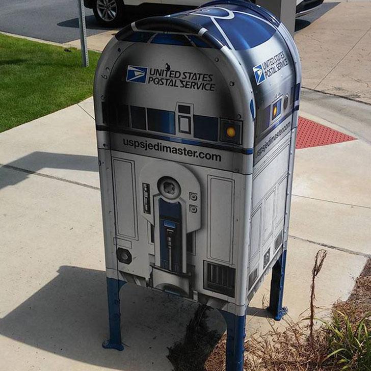 Необычные и забавные почтовые ящики