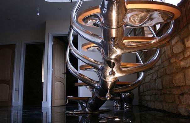 дизайн лестниц внутри дома