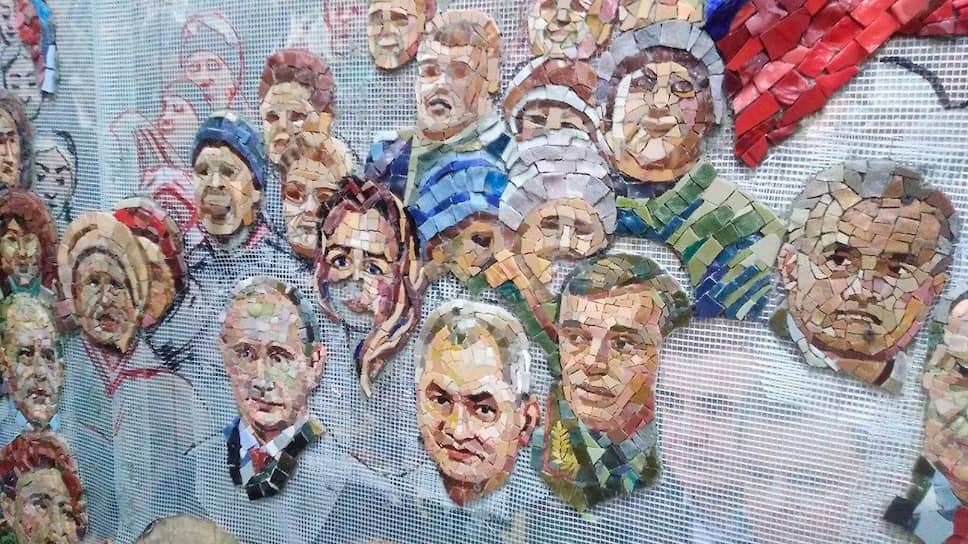 РПЦ объяснила традицией портреты Путина и Сталина в главном храме армии Минобороны,общество,россияне,РПЦ