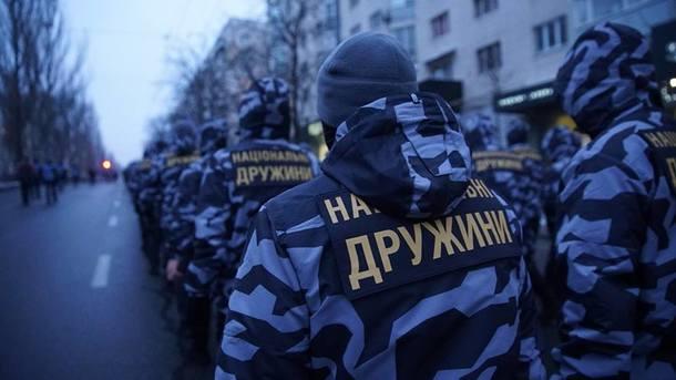 В центре Киева украинские ра…