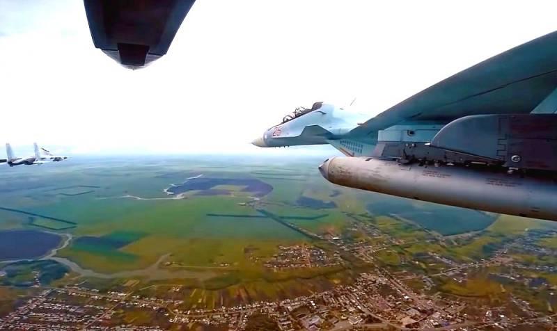 В США оценили случайное уничтожение Су-30М2 другим российским истребителем