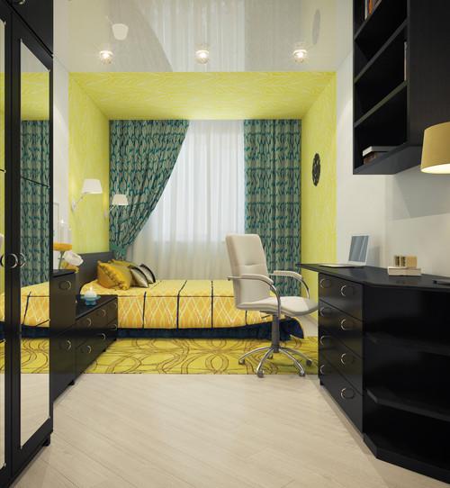 Как бы вы оценили результат преображения этой комнаты в хрущёвке? Фотографии после ремонта…