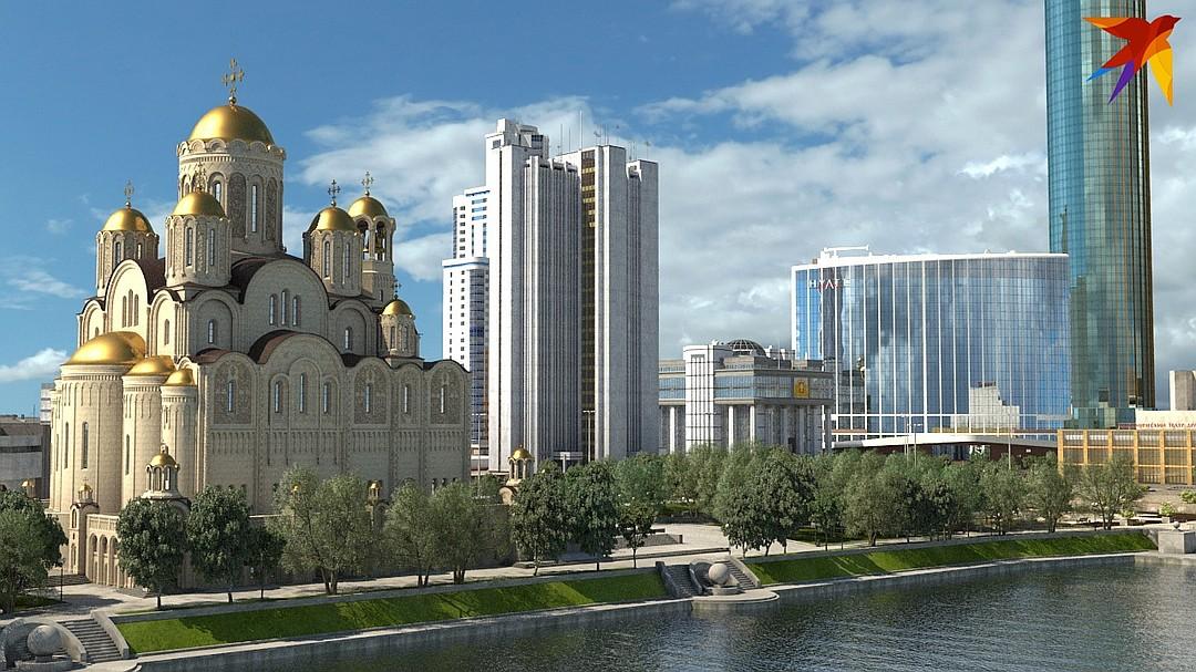 «Это не только и не столько строительство храма. В нагрузку  местный олигарх отгружает еще и многофункциональный жилой комплекс»