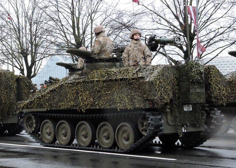 Латвия приобретает крупную партию израильских противотанковых ракетных комплексов Spike