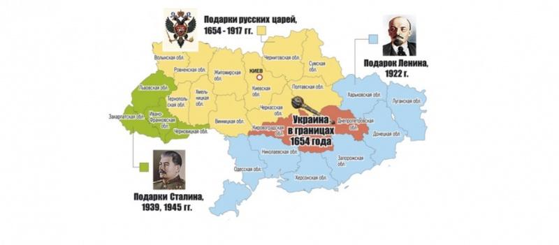 Как создавалась Украина? Пор…