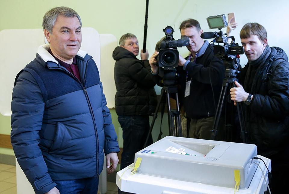 Вячеслав Володин: победа Пут…