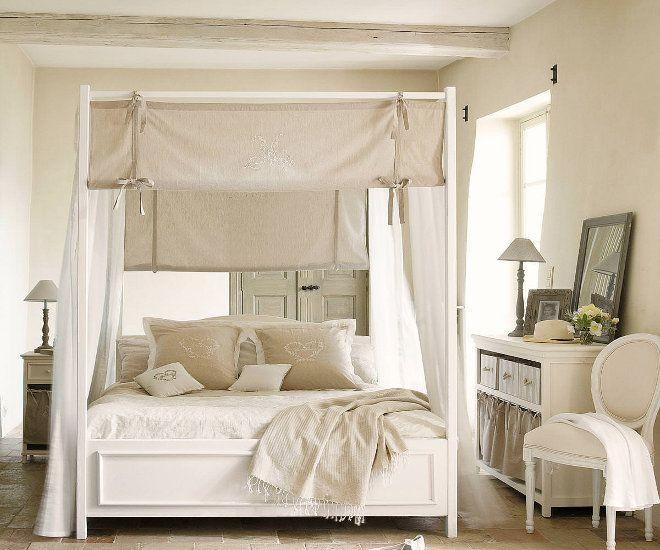 стиль прованс в белом