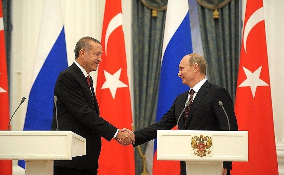 Встреча Путина и Эрдогана: в…
