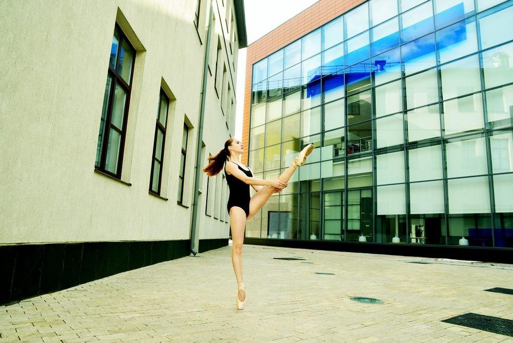 Фотопроект «Балет и город»