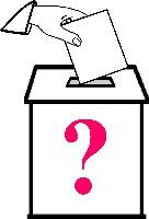 Рисунок все на выборы раскраска