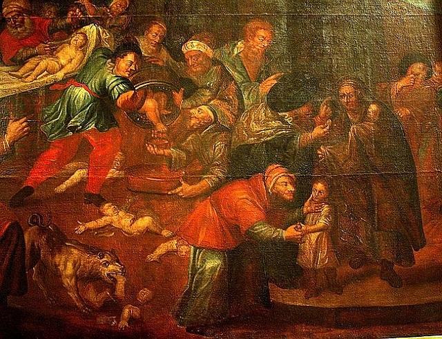 Библейская история. Заговор заклейменных проклятьем альтернатива