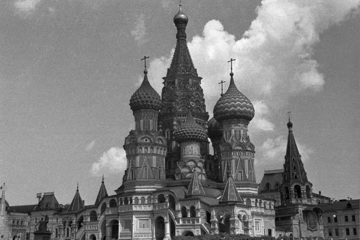 Ретро фотографии Москвы в 1939 года, сделанные Харрисоном Форманом