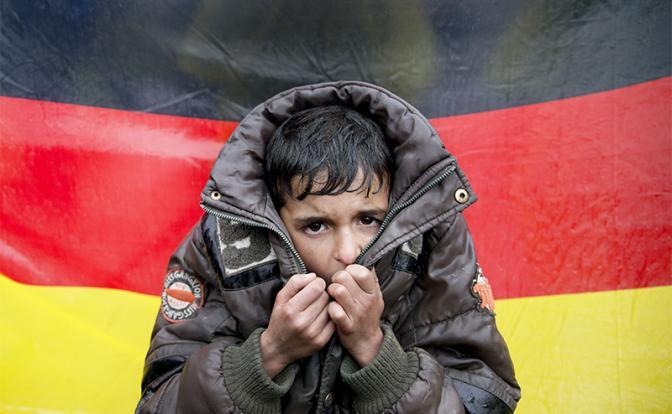 В Германию вновь массово угоняют подростков и детей